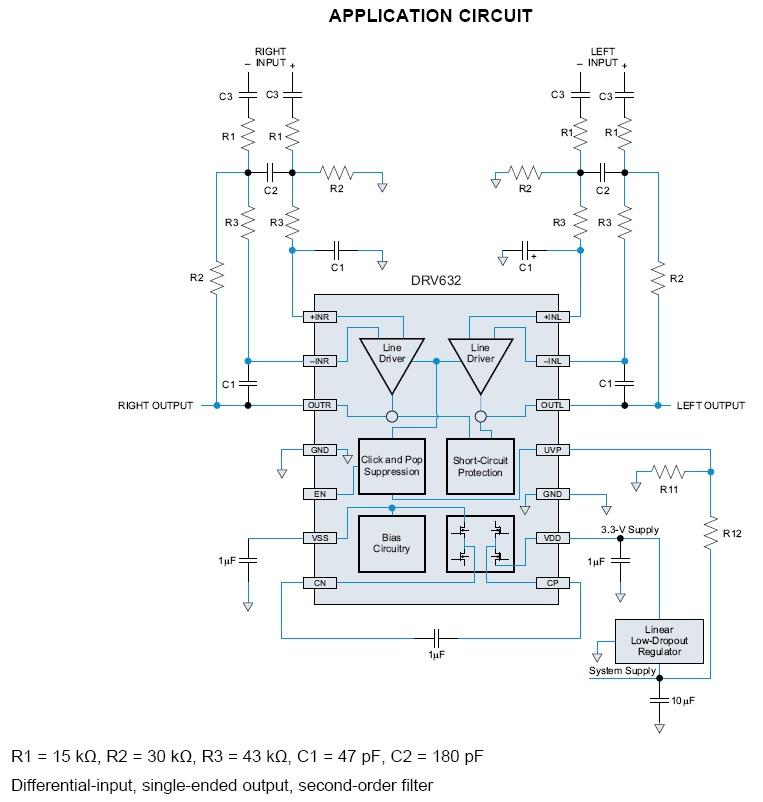 mute音频电路图